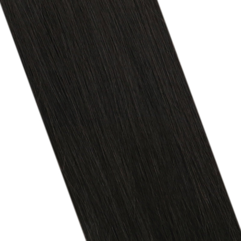 Virgin Natil Tip Remy Human Hair Extension Brazilian U Tip Hair Extension Off Black (