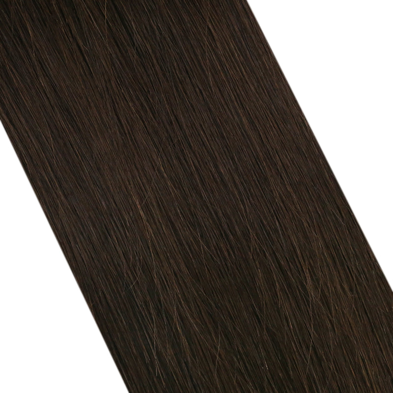 Virgin U Tip Human Hair Extension Virgin Remy Hair Medium Brown (