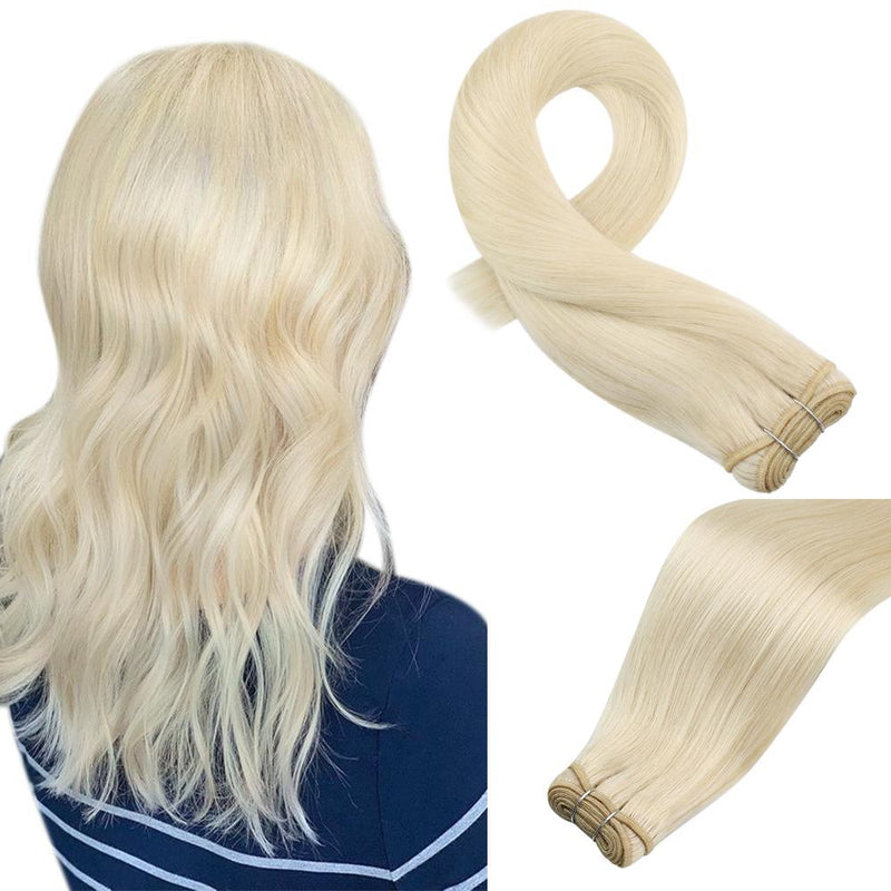 human hair bundles blonde