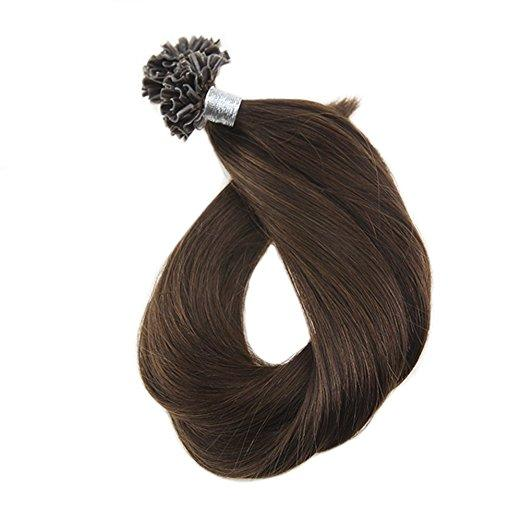 extensions human hair natural u tip extension