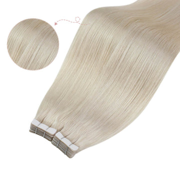 Remy tape in hair extensions healthy human hair