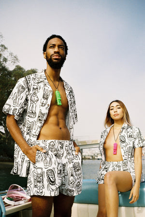 Show Me Your Tikis - Cabana Set (Unisex)