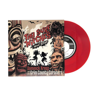 "Tiki Surf Witches Want Blood: 7"" Vinyl Soundtrack"