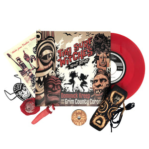 "Tiki Surf Witches Want Blood: 7"" Vinyl Soundtrack Collector's Set"