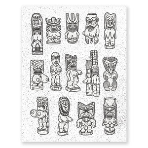 Tiki Shapes and Sizes