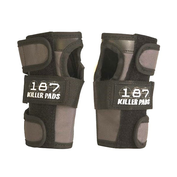 187 Grey Wrist Guards