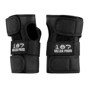 187 black wrist guards