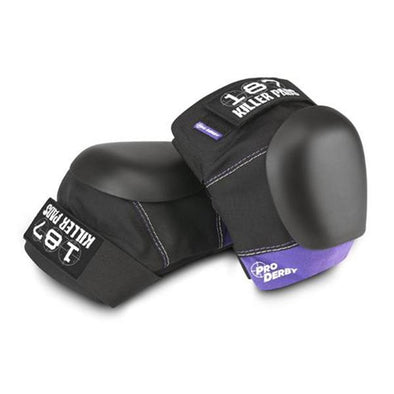 roller derby knee pads purple