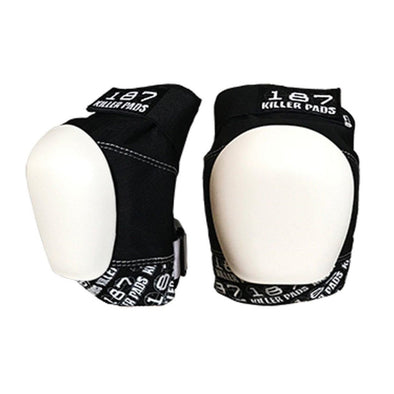 187 Pro Knee Pads White/Black