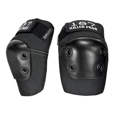 slim elbow pads black