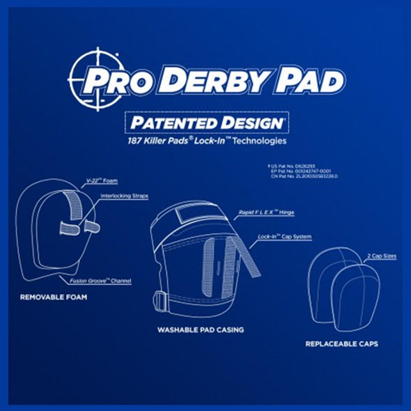 pro derby big knee pads