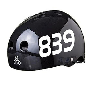 roller derby helmet stickers