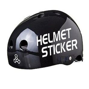 helmet vinyl sticker