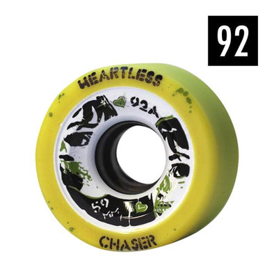 heartless chaser wheels 92a yellow
