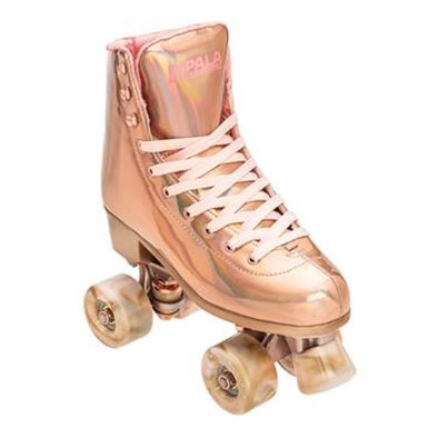 impala rose copper gold rollerskate