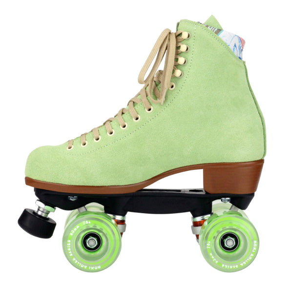 green roller skates high top