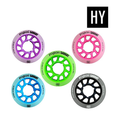 Atom Savant Wheels Poison Hybrid - 4 pack