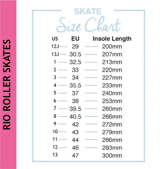 Rio Figure Lights Pink Skates *Last Pair* US4/EU 35.5