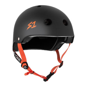 ORANGE BLACK BIKE HELMET
