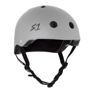 GREY BIKE HELMET