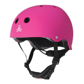 pink junior kids helmet