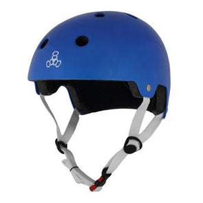 blue skate bike helmet