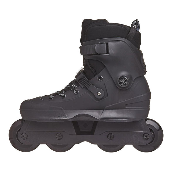 black 80mm inline urban skates