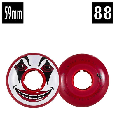 clown face wheels