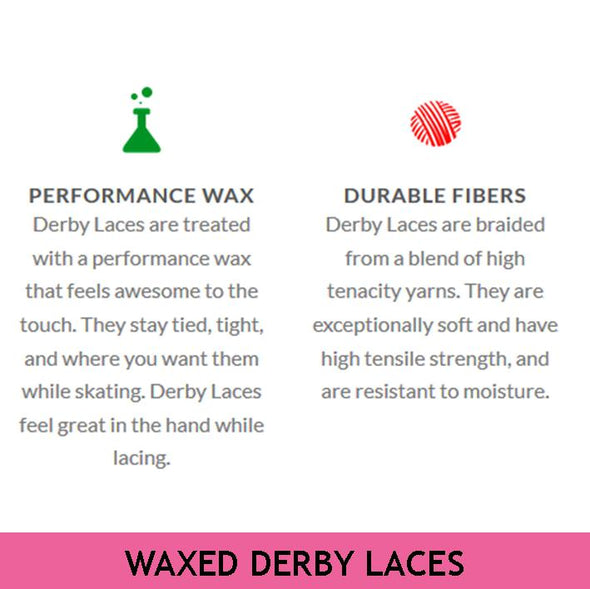 "Derby Laces Waxed Laces 60"" (152cm)"