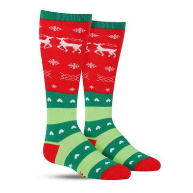 Tacky Holiday Sweater Junior Socks