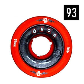 g-rod indoor red skate wheels