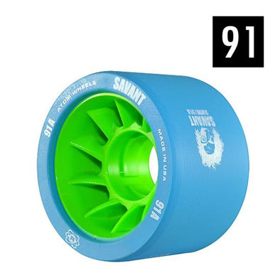 blue indoor derby wheels 91a