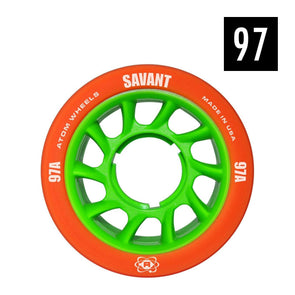 indoor 97a skate wheel orange