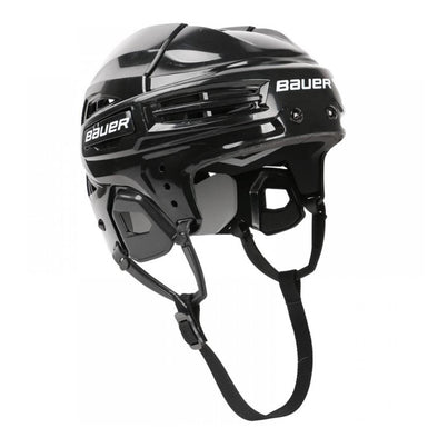 black ice hockey helmet