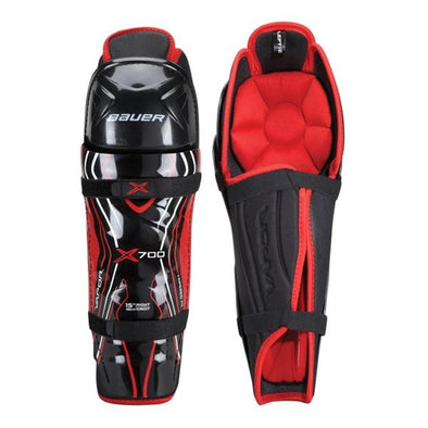 bauer x700 shin guards