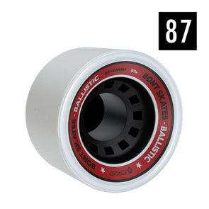 bont wheel 87a white