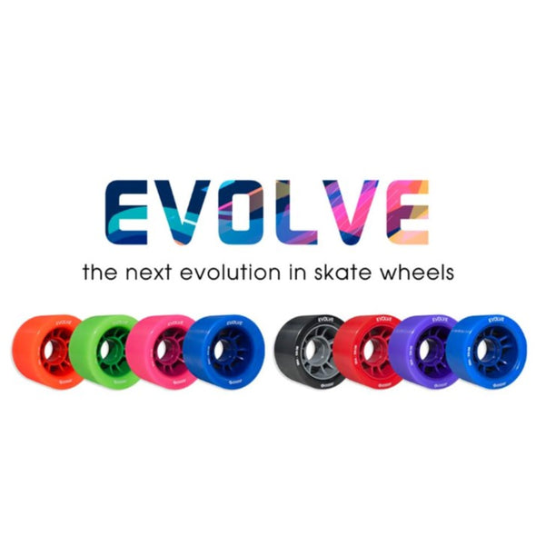 Bont Speed Evolve Wheels 98A - 4 pack