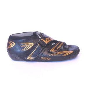 bont black gold boots