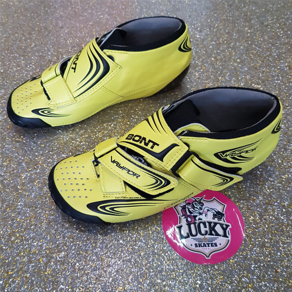 bont yellow carbon boots