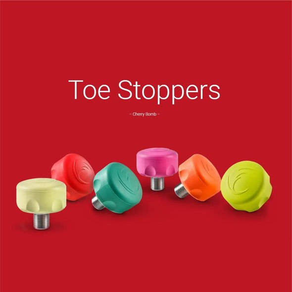 Cherry Bomb Short Stem Toe Stops