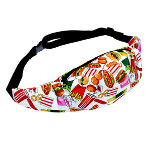 FOOD SNACKS fanny pack bum bag