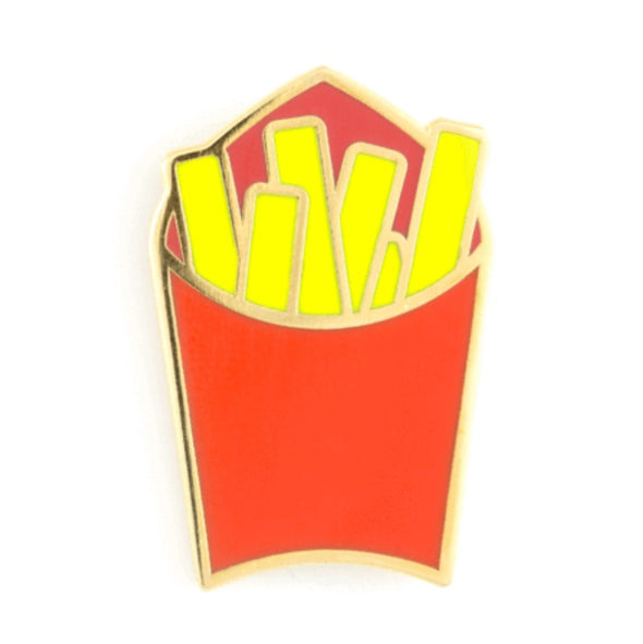 french fries pin