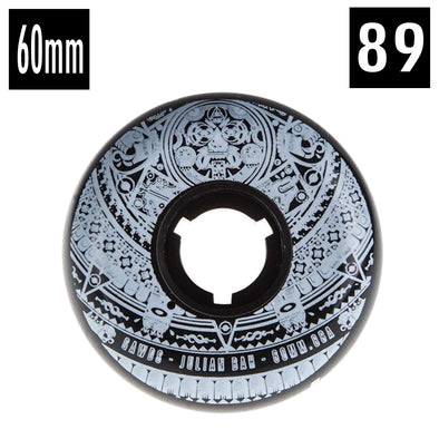 bandana print wheels 60mm