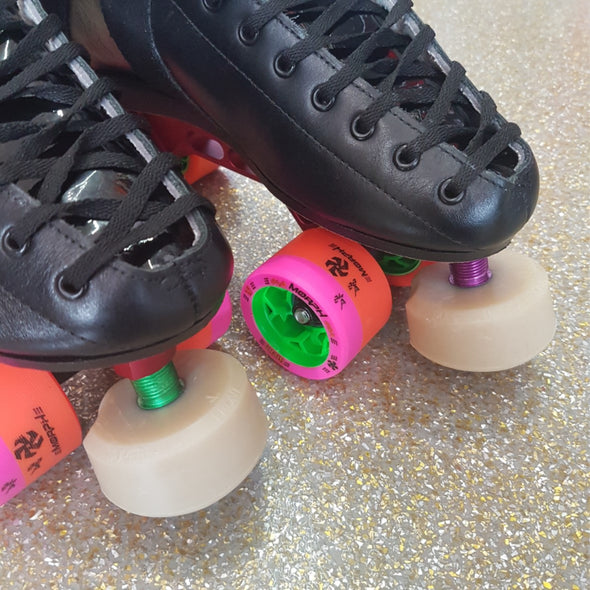 gumball superball toestops on skates