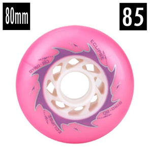 pink inline wheels outdoors