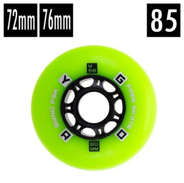 Gyro F2R Green Inline Wheel 85A