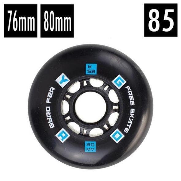 black gyro wheel 85a 76mm 80mm