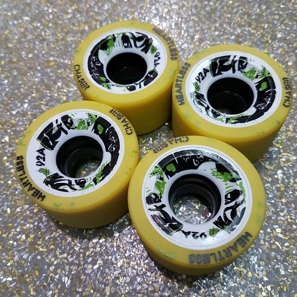 Heartless Wheels Chaser 92A 59mm - 4 pack