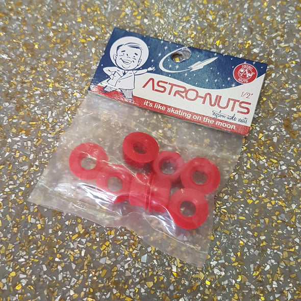 red astro wheel nuts