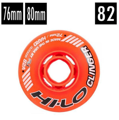 orange outdoor usa hockey wheel 82a